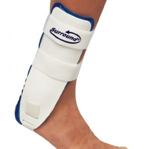 Air Ankle Support PROCARE® Surround® Trainer Hook and Loop Closure Right Ankle