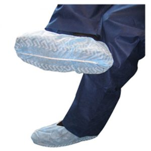 Blue Non Skid Shoe Covers
