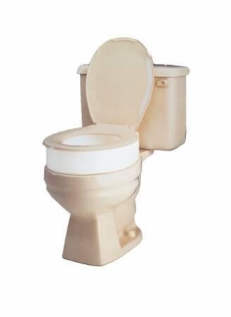 Magnificent Raised Toilet Seat Carex 3 1 2 Inch White 300 Lbs Creativecarmelina Interior Chair Design Creativecarmelinacom