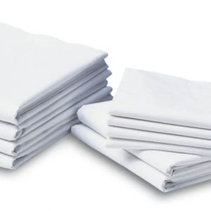 Muslin Draw Sheets,White,White