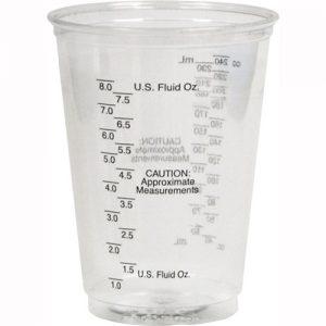 Plastic Graduated Medical Cup