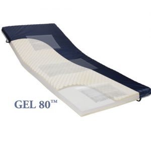 GEL 80 – Gel/Foam Mattress Overlay