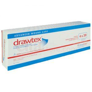 Drawtex Hydroconductive Wound Therapy Dressing – 4 x 39 Roll – 5 RL per BX