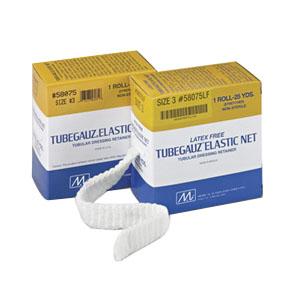 Tubegauz Elastic Net Bandage, Size 6 White, 1-1/2″ x 25 yds. (Thigh, Head, Shoulder and Lower Torso)